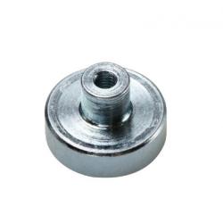 Pot-magneetti kierreholkilla 25x14mm (SmCo)