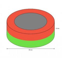 Rengasmagneetti 35/24x10mm (01163)
