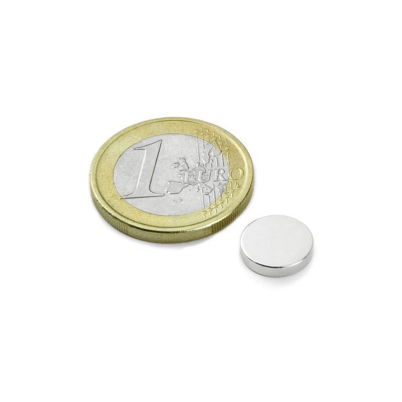 Kiekkomagneetti 10x2 mm