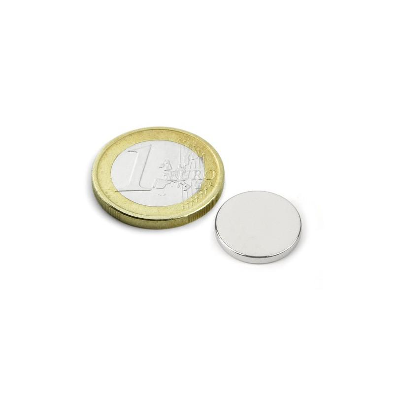 Kiekkomagneetti 15x2mm (Tuote 00002)