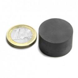 Kiekkomagneetti 25x15mm