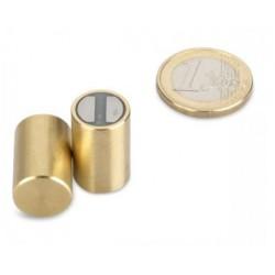 SmCo-pitomagneetti (messinki) 13x20mm