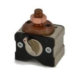Maadoitusmagneetti kytkimellä 50x50x64 mm