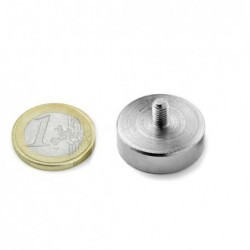 Ulkokierteinen POT-magneetti 25x8mm/M5x8
