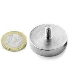 Ulkokierteinen POT-magneetti 32x8mm/M6x10