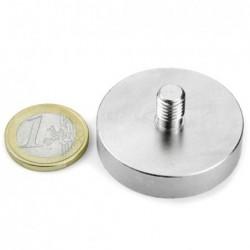 Ulkokierteinen POT-magneetti 40x9mm/M8x11