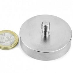 Ulkokierteinen POT-magneetti 48x11