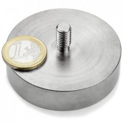 Ulkokierteinen POT-magneetti 60x15mm/M8x15