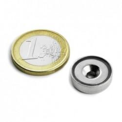 Uppokantainen POT-magneetti 16x4