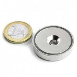 Uppokantareikäinen POT-magneetti 32x7mm