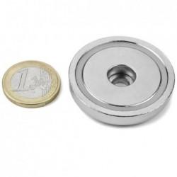 Reiällinen POT-magneetti 42x9mm