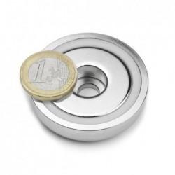 Reiällinen POT-magneetti 48x11