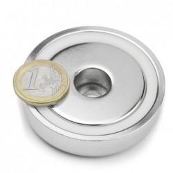 Reiällinen POT-magneetti 60x15mm