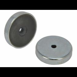 Ferriittinen POT-magneetti 40x8mm