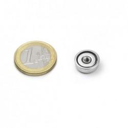 Sisäkierteinen POT-magneetti 13x4