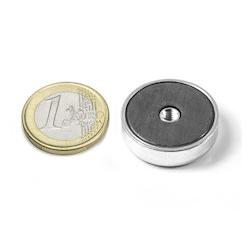 Sisäkierteinen POT-magneetti 25x7mm/M4