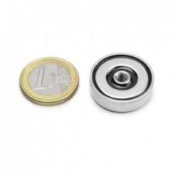 Sisäkierteinen POT-magneetti 25x7mm/M5