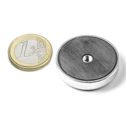 Sisäkierteinen POT-magneetti 32x7mm/M4