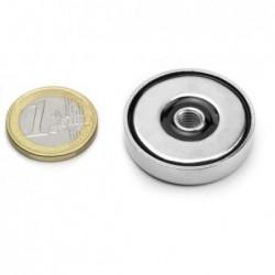 Sisäkierteinen POT-magneetti 32x7mm/M6