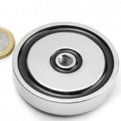 Sisäkierteinen POT-magneetti 60x15mm/M8