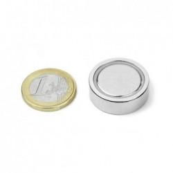 Liimattava POT-magneetti 25mm