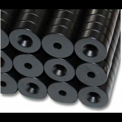 Reiällinen kiekkomagneetti 14x5mm (epoksi)