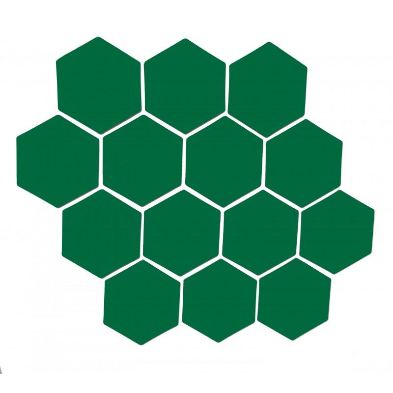 Vihreä magneettiarkki HEX Kuusio