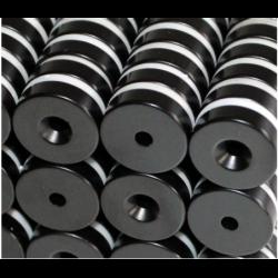 Reiällinen kiekkomagneetti 18x5mm (epoksi)