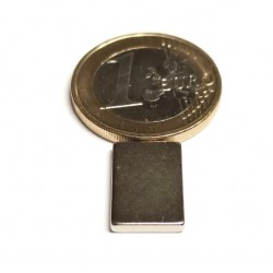 Suorakaidemagneetti 15x10x2mm