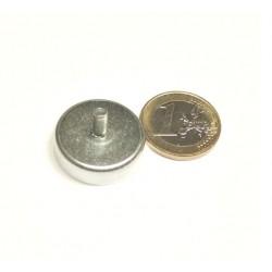 POT-magneetti 25x7mm/M4x8