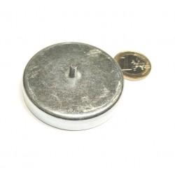 POT-magneetti 57x10,5mm/M4x8