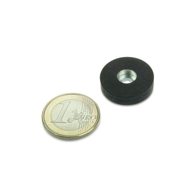 Magneettisysteemi 22x6mm/Ø4mm