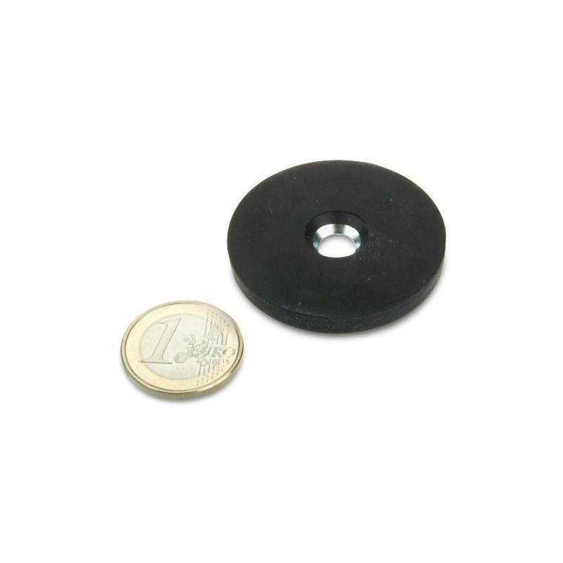 Magneettisysteemi 43x6mm/Ø7mm (uppokantareikä)