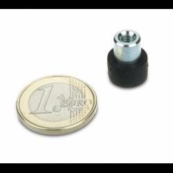 Magneettisysteemi 12x7mm/M4 kierreholkki