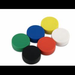 Muovipäällysteinen magneetti 16x6mm