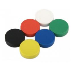 Muovipäällysteinen magneetti 22x6mm