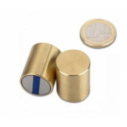 Neodyymipitomagneetti (messinki) 20x25mm