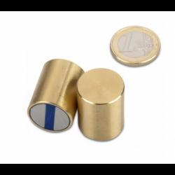 Neodyymipitomagneetti (messinki) 25x35mm