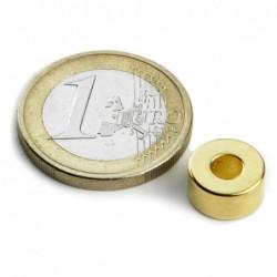 Rengasmagneetti (kulta) 10/4x5mm