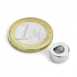 Rengasmagneetti 10/5x5mm (magnetisoitu halkaisijan mukaan)