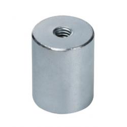 AlNiCo-pitomagneetti 40x50mm sisäkierteellä (sinkki)