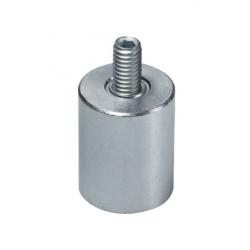 Ulkokierteinen AlNiCo-magneetti 10x20mm (galvanoitu)