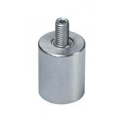Ulkokierteinen AlNiCo-magneetti 40x50mm (galvanoitu)
