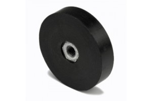Sisäkierteiset POT magneetit kumipäällysteiset