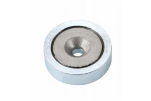 Uppokantareikäinen POT-magneetti (SmCo)
