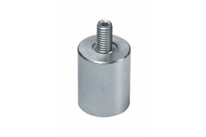 Ulkokierteiset AlNiCo-magneetit (galvanoitu)